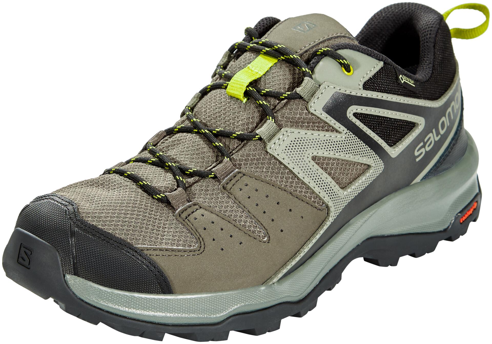 Salomon X Radiant GTX Shoes Herren belugacastor graycitronelle